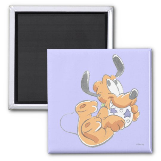 Pluto   Baby Pup Magnet