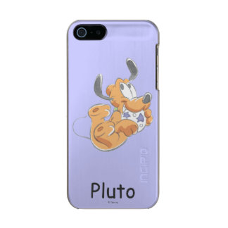 Pluto | Baby Pup Metallic Phone Case For iPhone SE/5/5s
