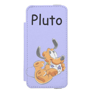 Pluto | Baby Pup Wallet Case For iPhone SE/5/5s