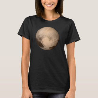 Pluto Black Women's T-Shirt