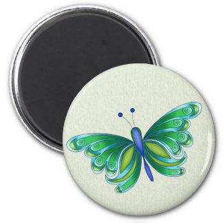 Pluto Butterfly Magnet