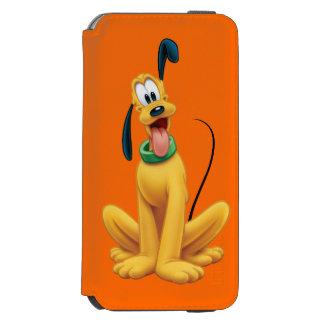 Pluto | Cartoon Front iPhone 6/6s Wallet Case