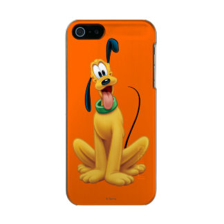 Pluto | Cartoon Front Metallic Phone Case For iPhone SE/5/5s