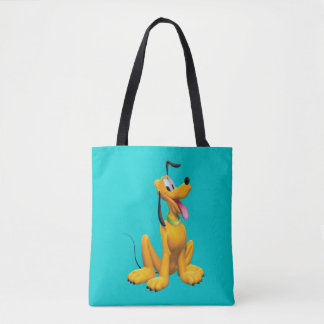 Pluto   Cartoon Side Tote Bag