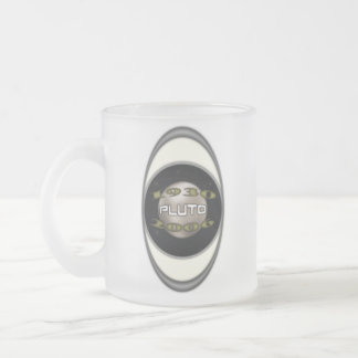 Pluto Commemorative 1930-2006 Frosted Glass Coffee Mug