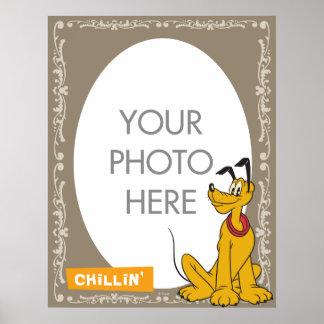 Pluto Customizable Poster