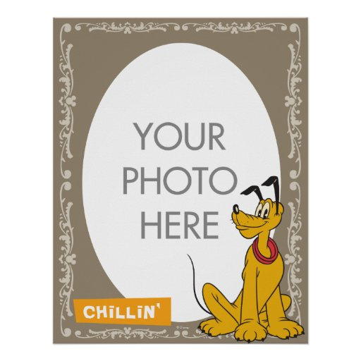 Pluto Customizable Posters