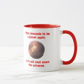 pluto demands to be a planet again... mug
