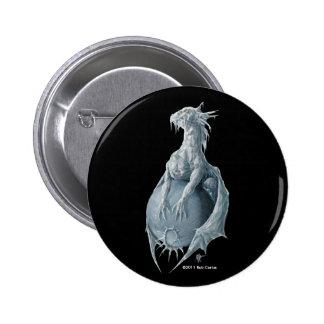 Pluto Dragon 2 Inch Round Button