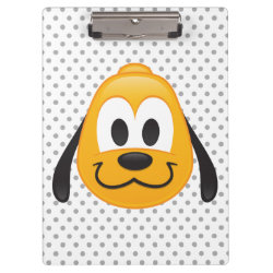 Clipboard with Pluto design