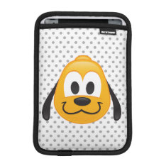 Pluto Emoji Sleeve For Ipad Mini at Zazzle