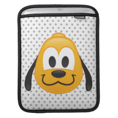 Pluto Emoji Sleeve For Ipads at Zazzle