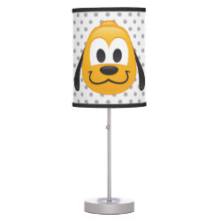 Table Lamp with Pluto design