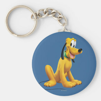 Pluto | Eyes to Side Keychain