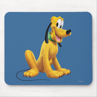 Pluto | Eyes to Side Mouse Pad