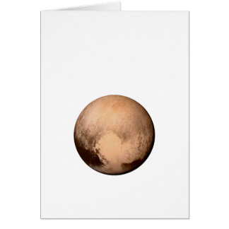 PLUTO FOR PLANETHOOD - JOIN THE CAMPAIGN! (space) Card