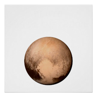 PLUTO FOR PLANETHOOD - JOIN THE CAMPAIGN! (space) Poster