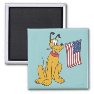 Pluto | Freedom 2 Inch Square Magnet