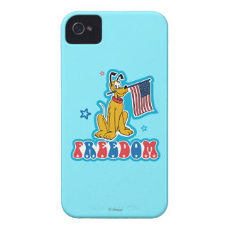 Pluto | Freedom with Flag iPhone 4 Case