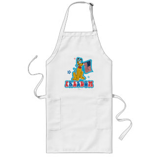 Pluto | Freedom with Flag Long Apron