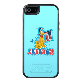 Pluto | Freedom with Flag OtterBox iPhone 5/5s/SE Case