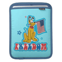 Pluto   Freedom with Flag Sleeve For iPads