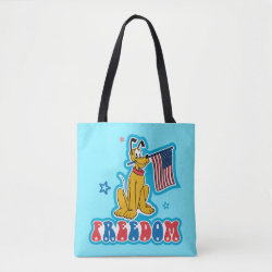All-Over-Print Tote Bag, Medium with Pluto design