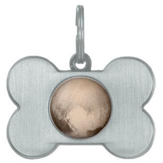 Pluto Heart-View Pet Name Tag