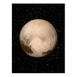 Pluto Heart-View Postcard