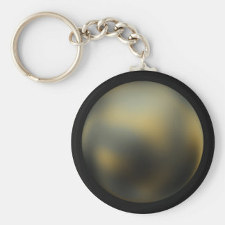 Pluto imaged by NASA's Hubble Space Telescope Keychain