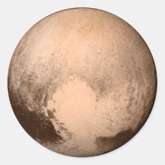 Pluto Images Classic Round Sticker