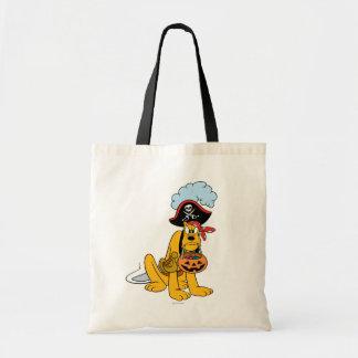 Pluto in Pirate Costume Tote Bag