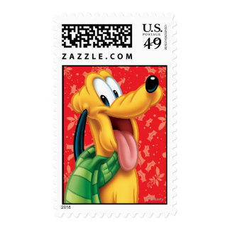 Pluto in Scarf Postage Stamps