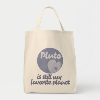 Pluto is still my favorite planet tote bag