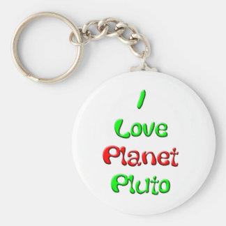 Pluto Keychain