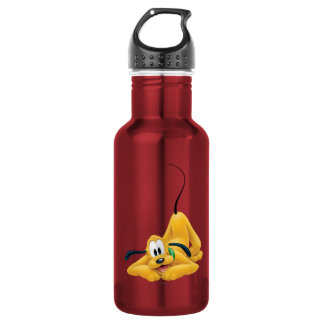 Pluto Laying Down 1 18oz Water Bottle