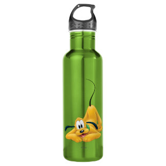 Pluto Laying Down 1 24oz Water Bottle