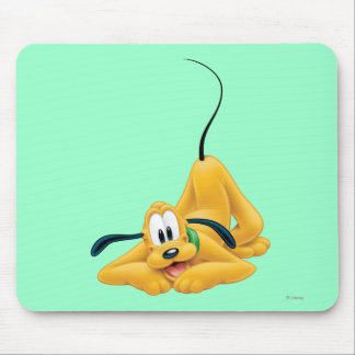 Pluto Laying Down 1 Mouse Pad