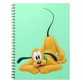 Pluto Laying Down 1 Note Book