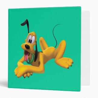 Pluto Laying Down 2 Vinyl Binders