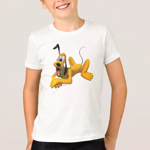 Pluto | Laying with Ear Up T-Shirt