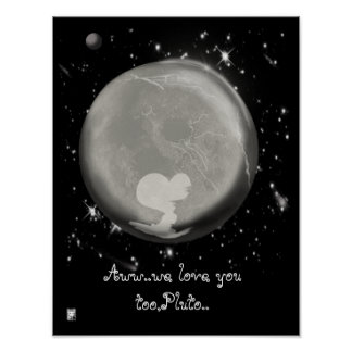 pluto love poster