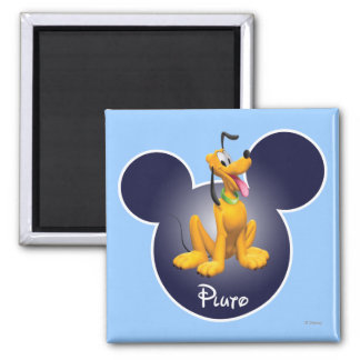Pluto | Mickey Head Icon Magnet
