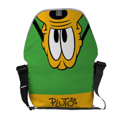 Pluto | Peek-a-boo Courier Bag at Zazzle