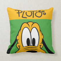 Pluto | Peek-a-Boo Throw Pillow