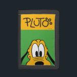 "Pluto   Peek-a-Boo Tri-fold Wallet<br><div class=""desc"">Mickey &amp; Friends - Pluto</div>"
