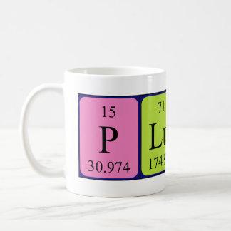 Pluto periodic table name mug