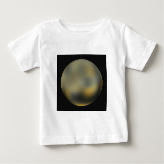 Pluto planet giant ball in the sky baby T-Shirt