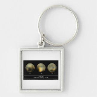 Pluto Planet Keychain