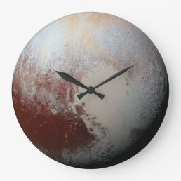 Pluto planet large clock